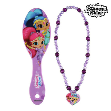 Kinderfrisierset Shimmer and Shine 70859 (2 pcs) Bürste+Türkiser Kamm