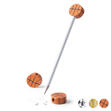 Bleistift mit Radiergummi Sports 145218 Basketball