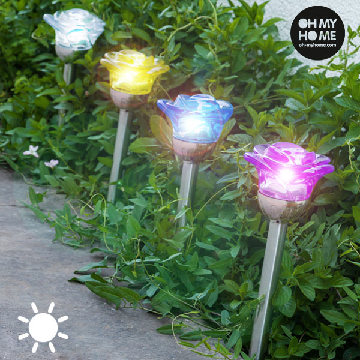 Oh My Home Solar Blumenlampe