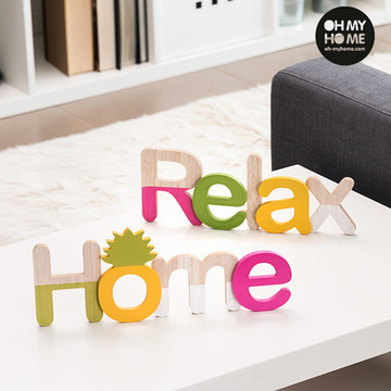 Oh My Home Holzschild (2er Pack)