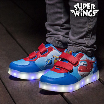 Super Wings Turnschuhe mit LED
