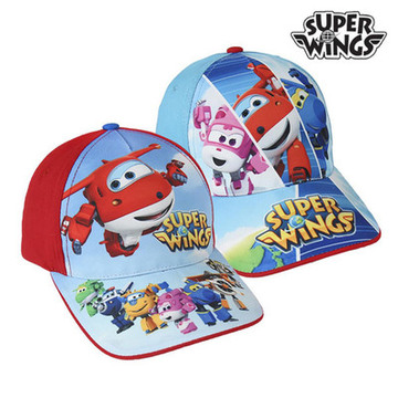Super Wings Kinder Kappe (53 cm)