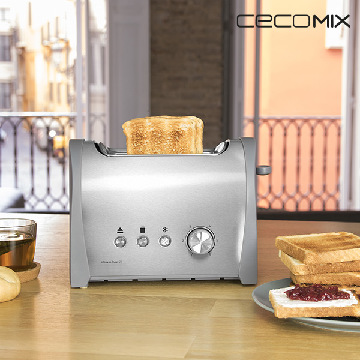 Cecomix Steel 2S 3035 Toaster 800W