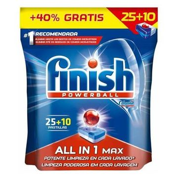 Finish Regular All in 1 Spülmaschinentabs (35 Stück)