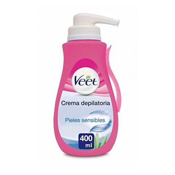 Veet Sensitive Enthaarungscreme mit Spender 400 ml
