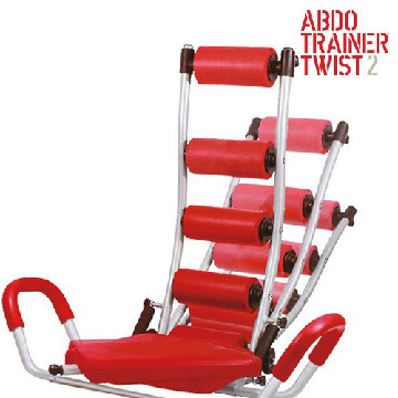 ABDO Trainer Twist Sit Up Bank mit Expandern