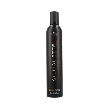 Schwarzkopf Proffesional Silhouette Super Hold Mousse (Black) 500ml
