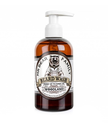 Mr. Bear Family Beard Wash Woodland 250ml