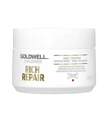 Goldwell Dual Senses Rich Repair 60S Treatment 200ml Regeneration For Damaged Hair