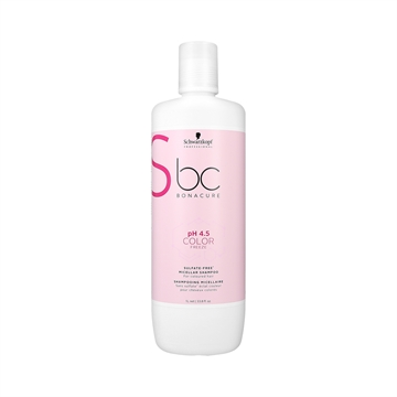 Bonacure Color Freeze Sulfate-Free Shampoo 1000ml PH 4,5 For Coloured Hair