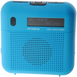 Tiny Audio M3 DAB+ radio, Blue
