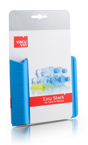 Vacuvin 1852760 Easy Stack J-Hook Blue