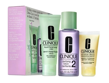 Clinique 3-Step Creates Great Skin Type 2 - 3-Pack