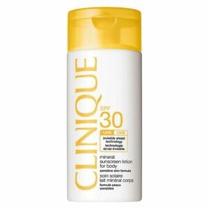 Clinique Mineral Sunscreen Lotion For Body SPF30 125ml High Protection - Sensitive Skin