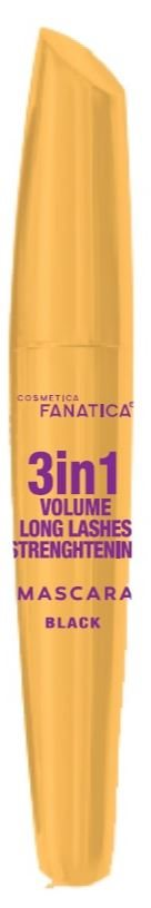 Fanatica Mascara 3In1 Vol. Long Lash Black