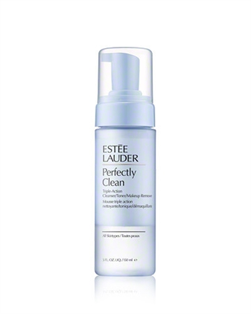Estée Lauder Perfectly Clean Triple-Action 150ml Cleanser/Toner/Make-Up Remover For All Skin Types
