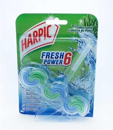 Harpic Rim Block Power 6 Forest Dew 39G