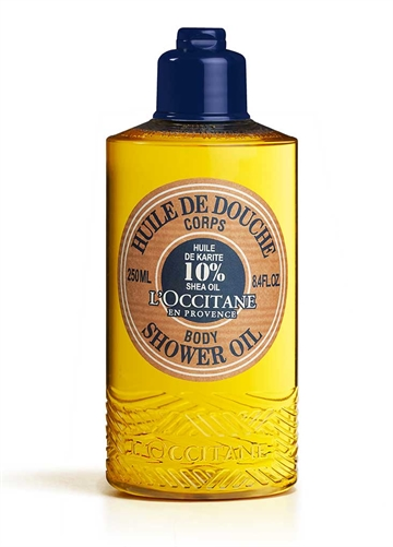 L'Occitane Body Shower Gel Oil 250ml 10% Shea Oil