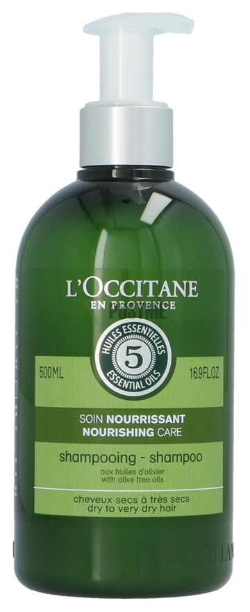 L'Occitane Nourishing Care Shampoo 500ml Dry To Very Dry Hair With Dive Tree Oils