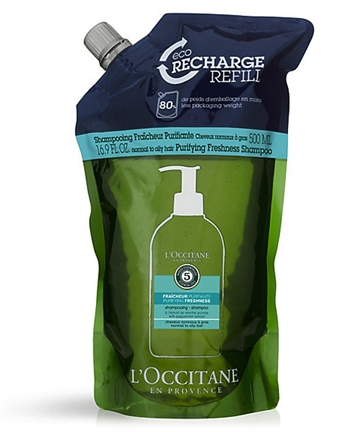 L'Occitane Purifying Freshness Shampoo 500ml Refill