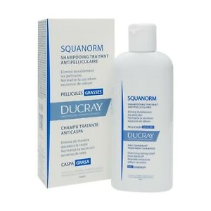 Ducray Squanorm Anti-Dandruff Treatment Shampoo 200ml Dry