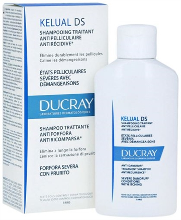 Ducray Kelual Ds Anti-Dandruff Treatment Shampoo 100ml