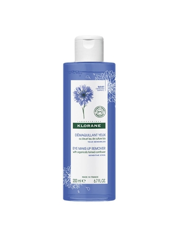 Klorane Eye Make-Up Remover With Cornflower 200ml Sensitive Eye's