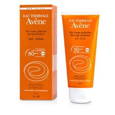 Avene Sun Care Lotion SPF50+ 100ml Sensitive Skin