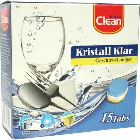 CLEAN Dishwashing Cleaningtabs 3in1 15pcs