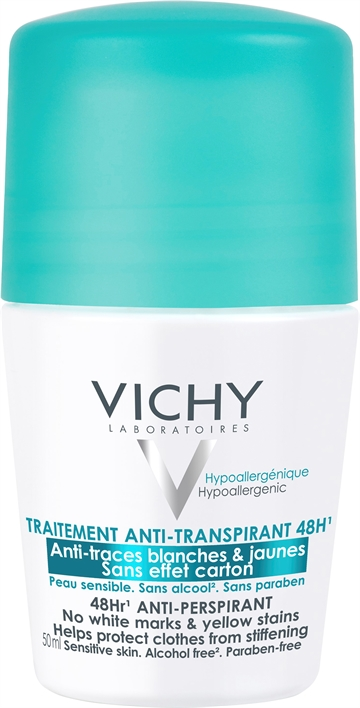 Vichy 48Hr AntiPerspirant RollOn 50ml Sensitive Skin