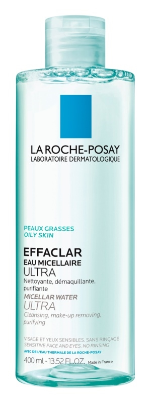 La Roche Effaclar Purifying Micellar Water 400ml