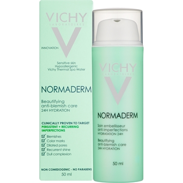 Vichy Normaderm Beautifying AntiBlemish Care 50ml 24H hydration
