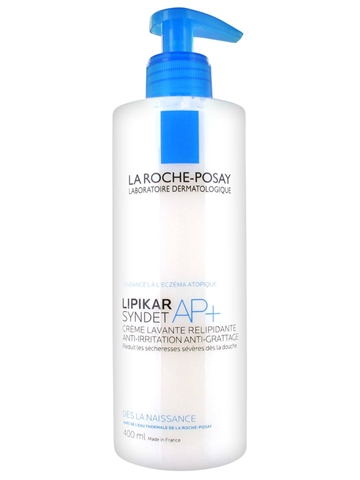 La Roche Lipikar Syndet Cleansing Body Cream-Gel 400ml
