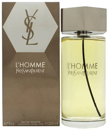 Yves Saint Laurent L'Homme Eau De Toilette Spray 200ml