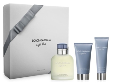 D&G Light Blue Pour Homme Giftset 250ml