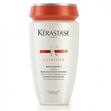 Kerastase Nutritive Bain Satin 1 Shampoo 250ml For Normal to Slightly Dry Hair
