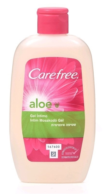 Carefree Intimgel 200ml Aloe