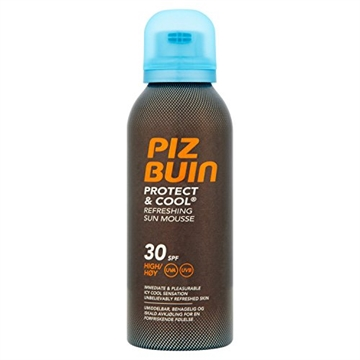 Piz Buin Protect & Cool Refreshing Sun Mousse Spf 30 150ml