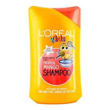 L Oréal Kids Tropical Mango Shampoo 250ml