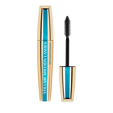 L'Oreal Paris Make-Up Designer Volume Million Lashes Waterproof - Black - Mascara 10,7 ml