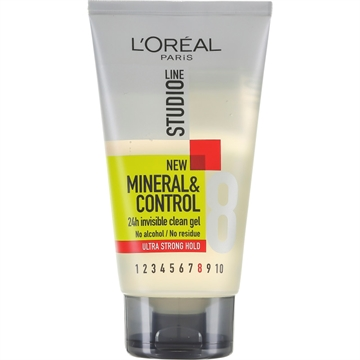 L'Oréal  Studioline Hair Gel Mineral Control Ultra Strong Hold 150ml
