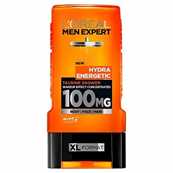 L Oréal Men Expert Hydra Energetic Taurine Shower Gel 300ml