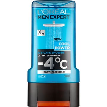 L'Oréal Men Expert Shower Gel Cool Power 300ml