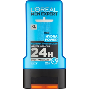 L'ORÉAL MEN EXPERT SHOWER GEL HYDRA POWER 300ML