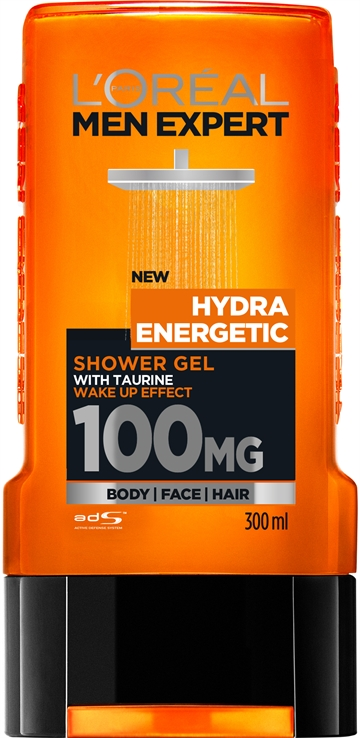 L'Oréal  Men Expert Hydra Energetic Shower Gel 300ml