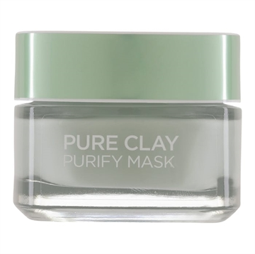 L'Oréal Paris Pure Clay Purity Mask Green 50 ml