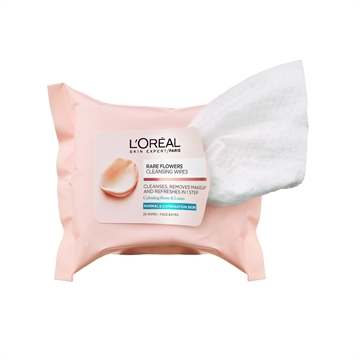L'Oréal Paris Flower Cleansing Wipes Dry Skin