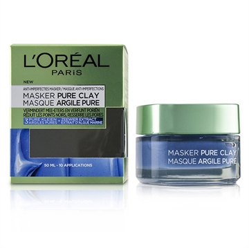 L'ORÉAL Pure Clay Mask - Anti-Imperfections Mask 50ml