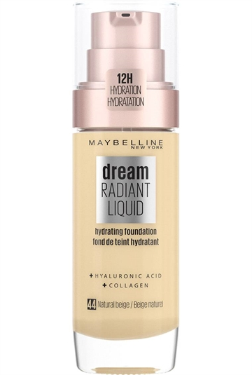 Maybelline Foundation Dream Radiant Liquid Foundation 44 Natural Beige 44 30ml
