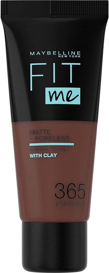Maybelline Fit Me Foundation 365 Espresso Tube 30ml